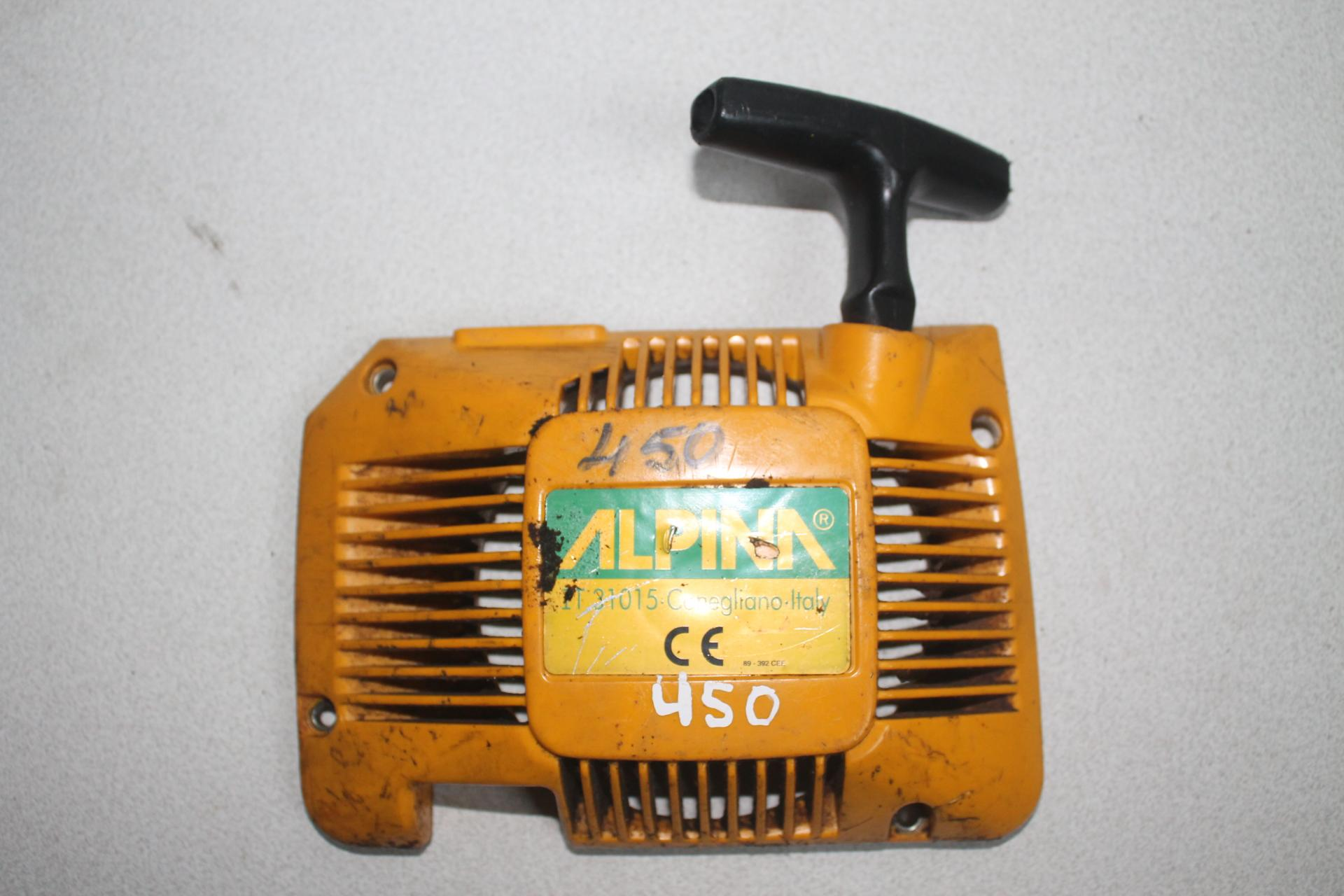 Arranque Alpina P450
