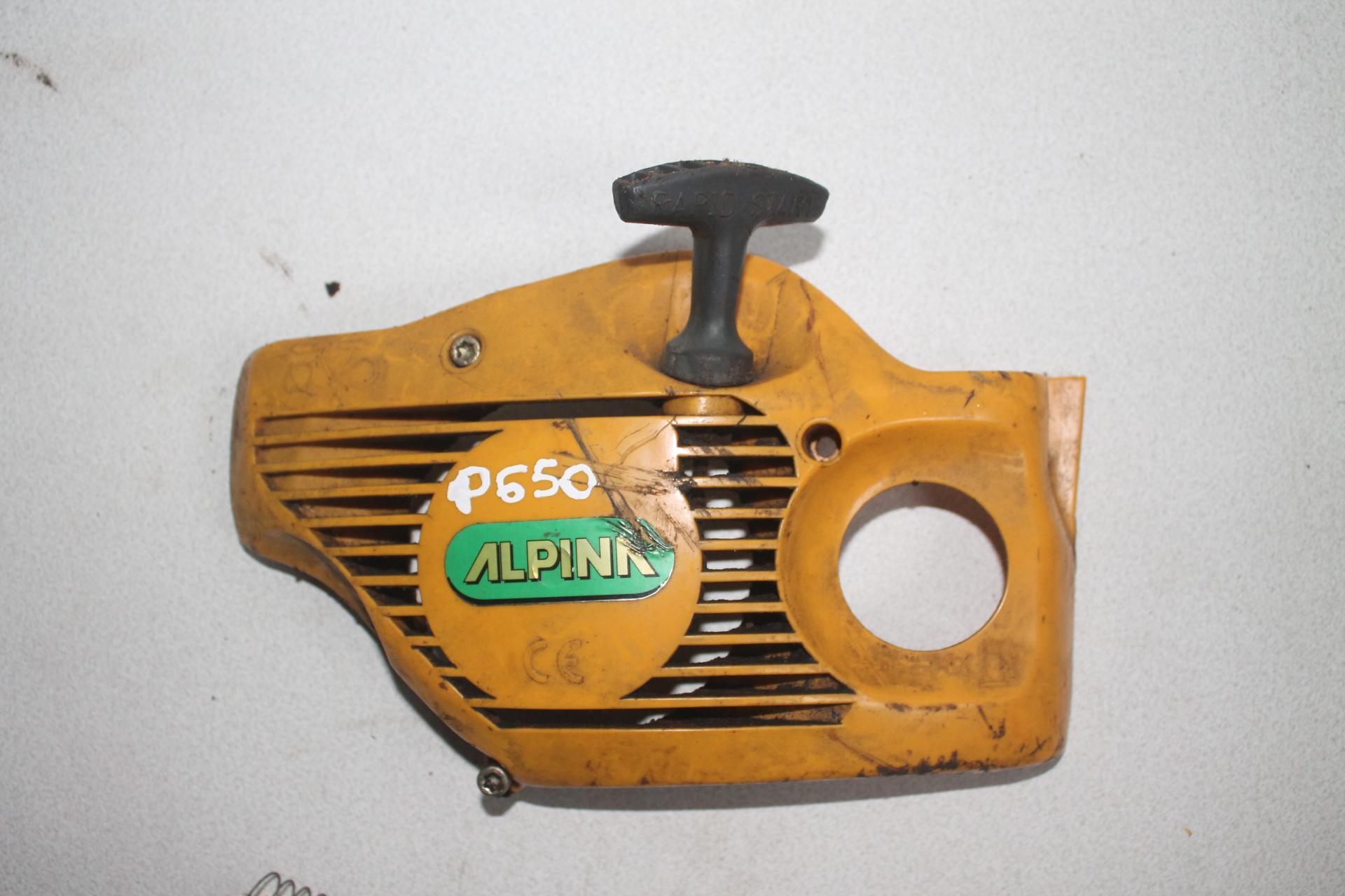 Arranque Alpina P650