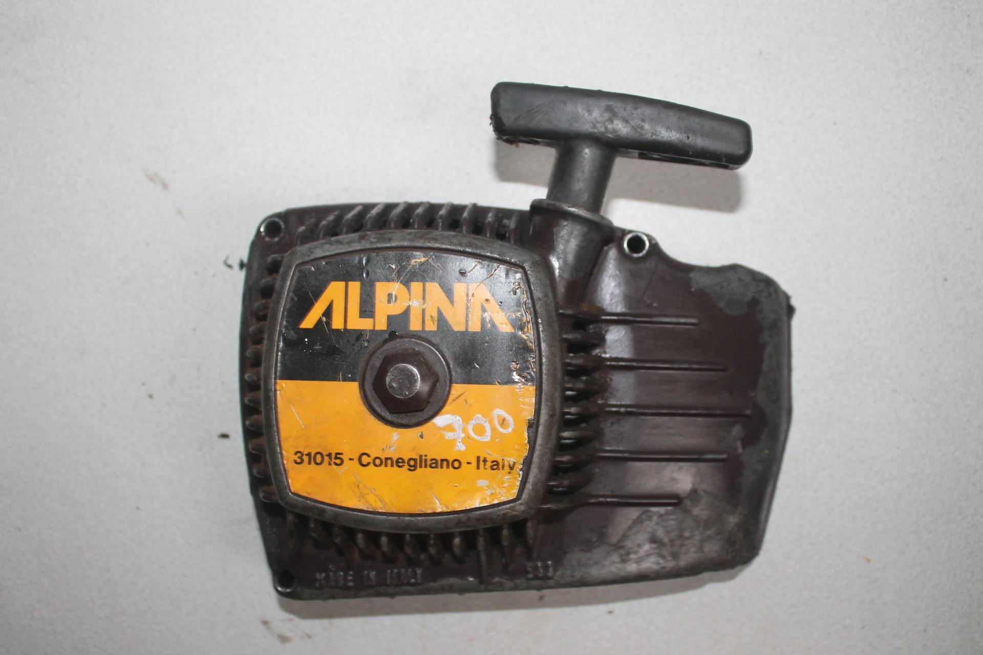 Arranque Alpina 700