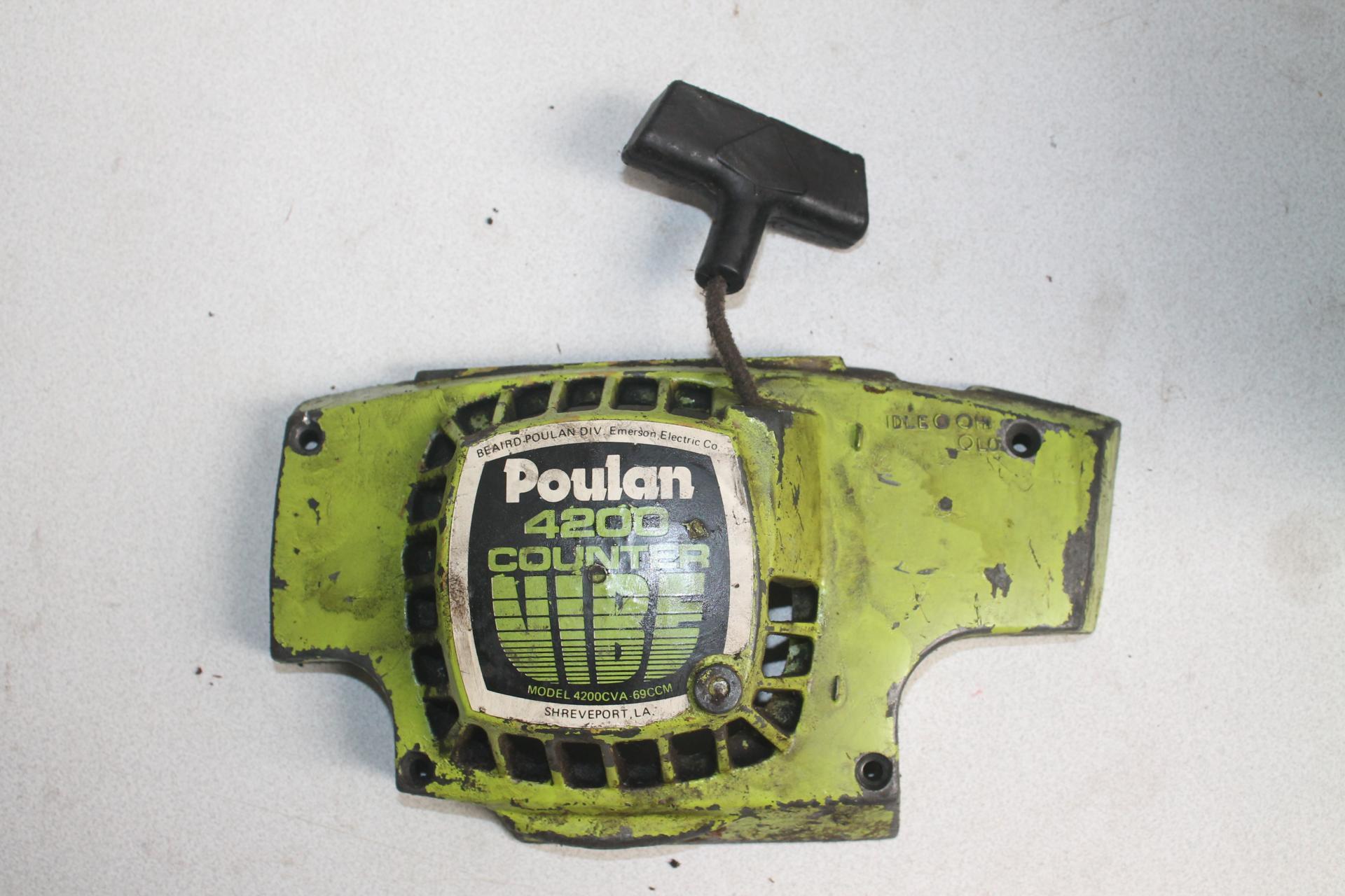 Arranque Poulan 4200