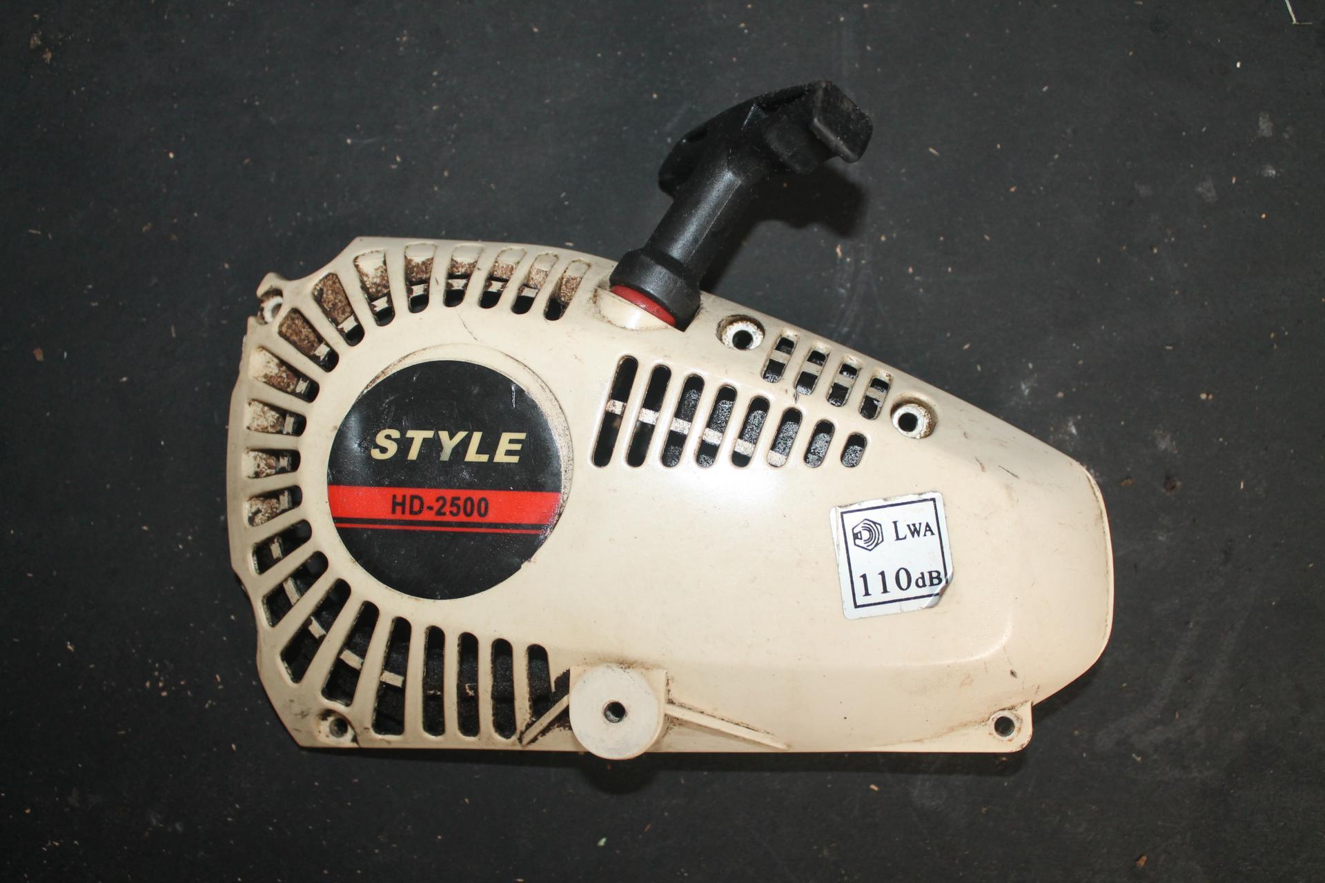 Arranque Style HD 2500