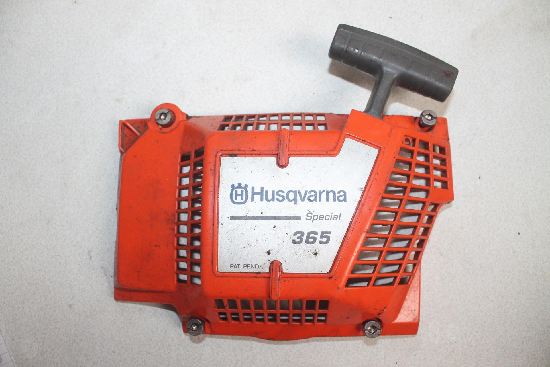 Arranque Husqvarna 365