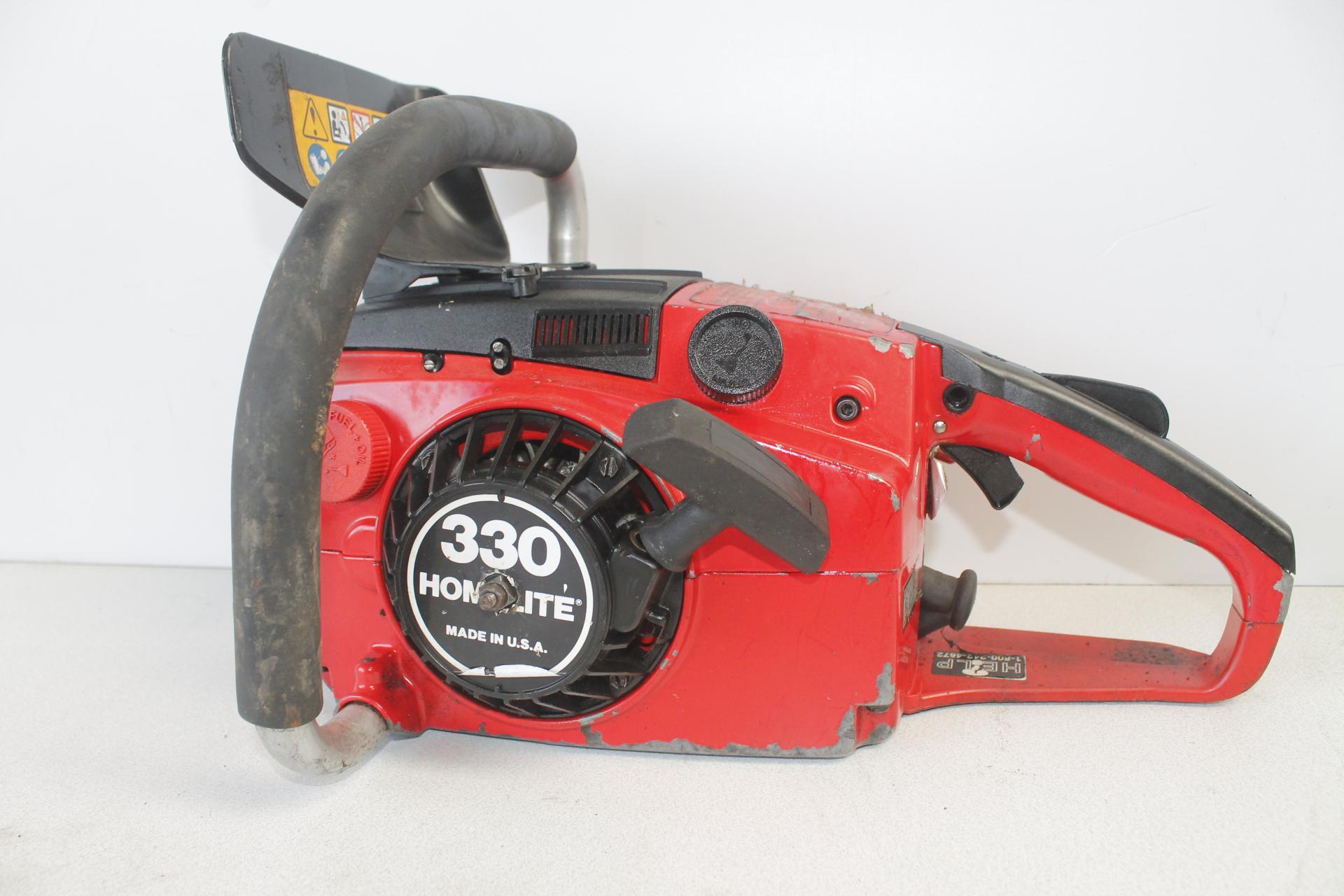 Despiece Homelite 330