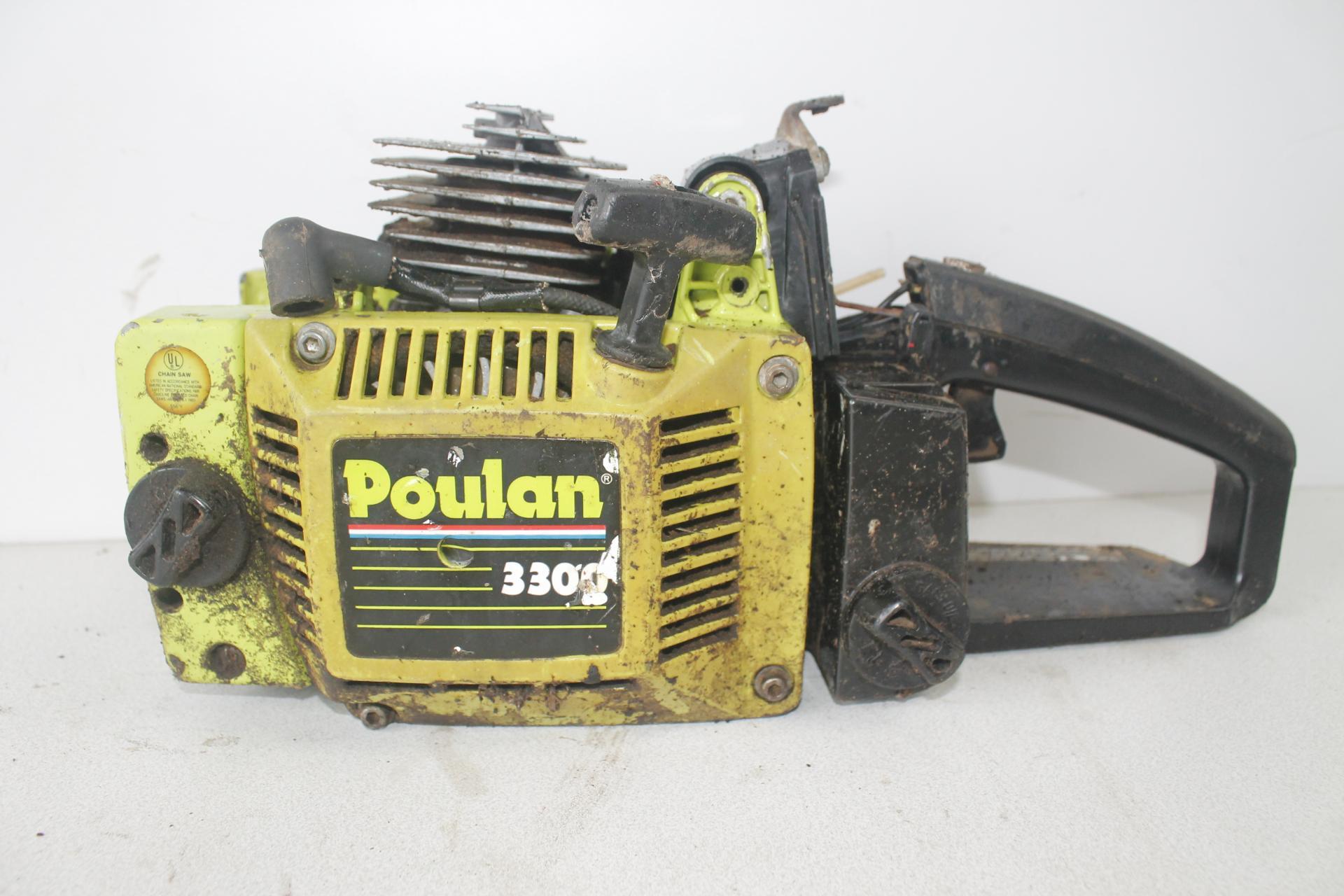 Despiece Poulan 3300
