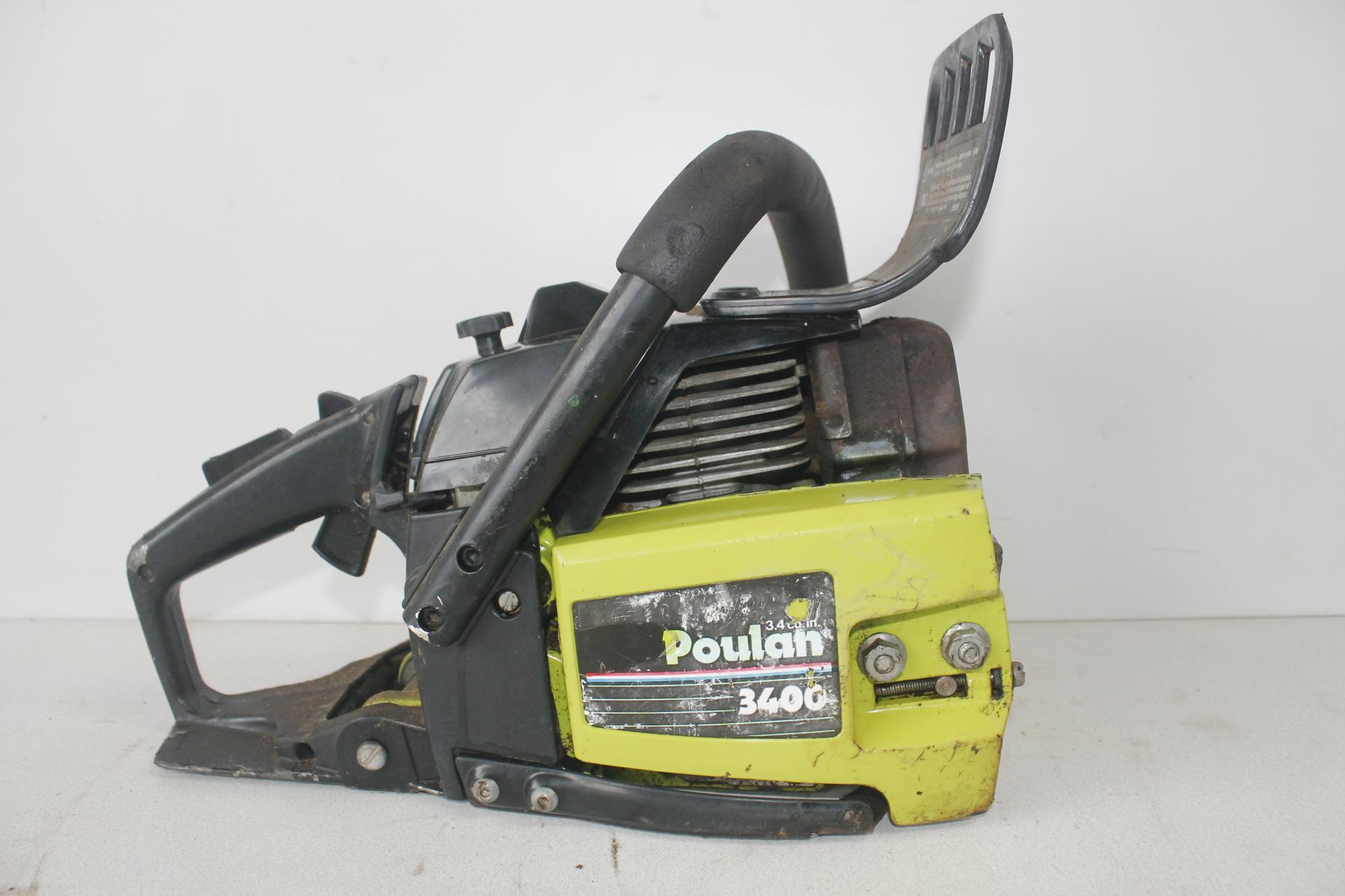 Despiece Poulan 3400