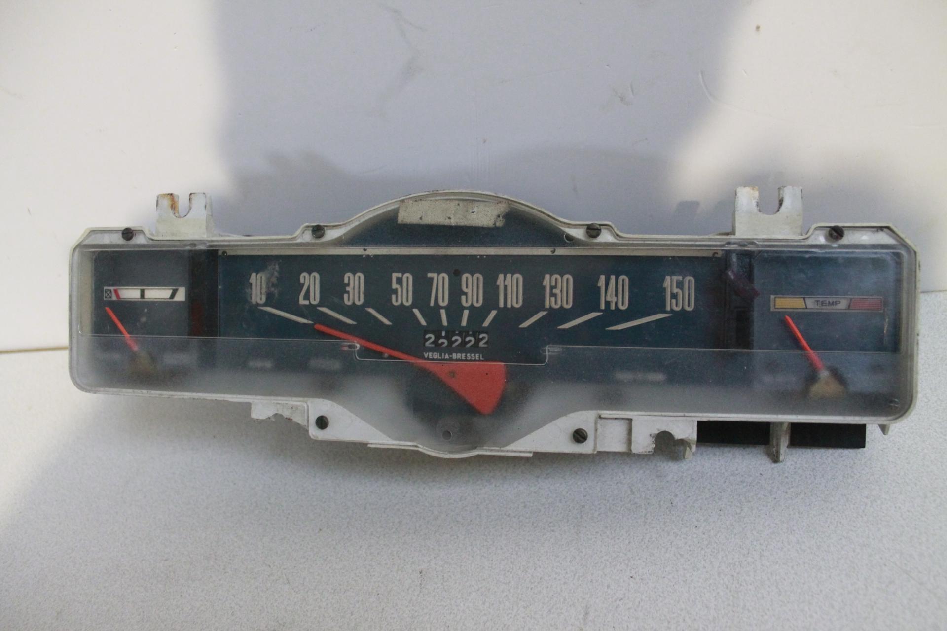 Cuentakilómetros SEAT 124 1ª serie