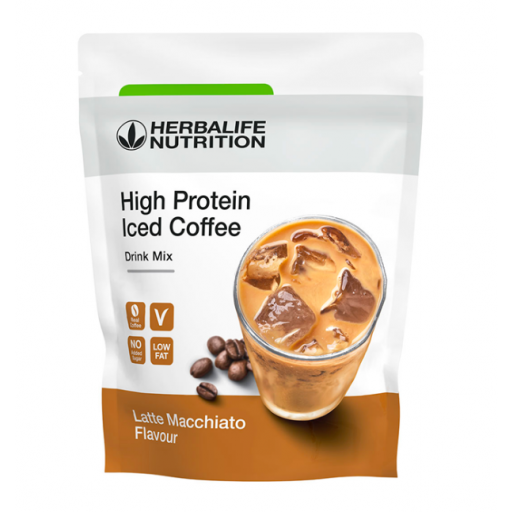 High Protein Iced Coffee Latte Macchiato [0]