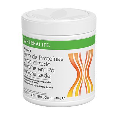 Fórmula 3 Polvo de Proteínas Personalizado