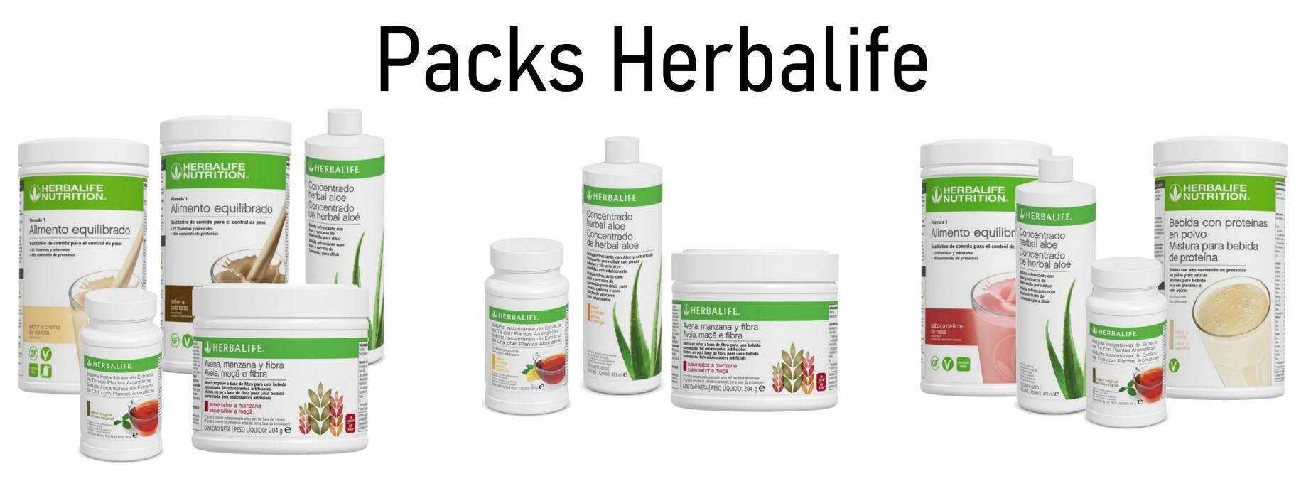 Packs Herbalife