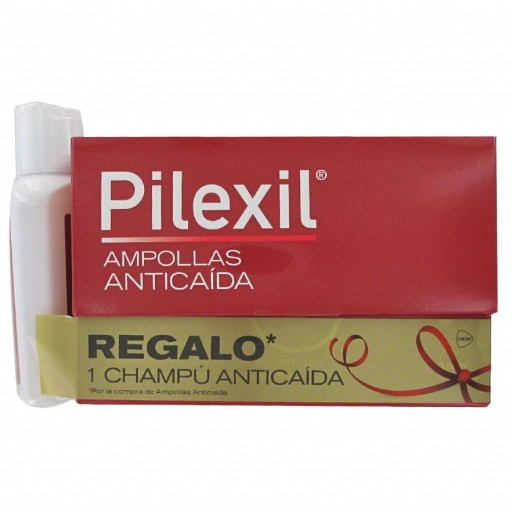 PILEXIL ANTICAIDA 15x5ml AMPOLLAS + CHAMPÚ 100ml
