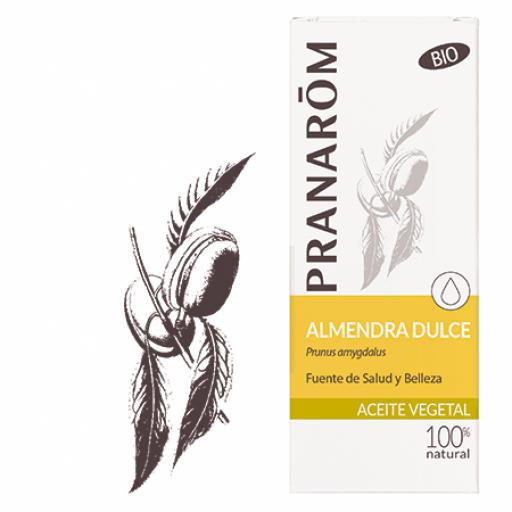 PRANAROM ACEITE VEGETAL ALMENDRAS DULCES 50 ML