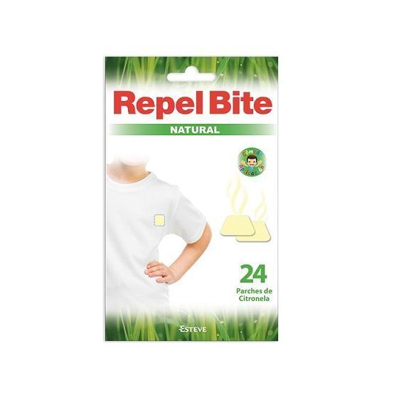 REPEL BITE NATURAL CITRONELA 24 PARCHES