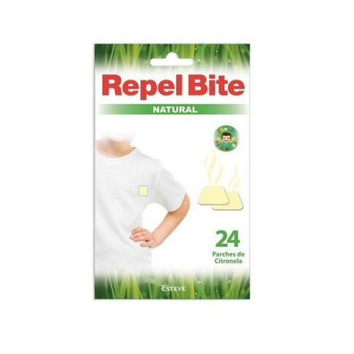 REPEL BITE NATURAL CITRONELA 24 PARCHES