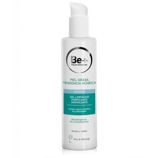 Be+ GEL LIMPIADOR PURIFICANTE MATIFICANTE 200 ml