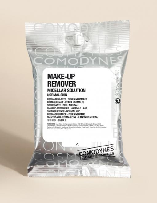COMODYNES MAKE-UP REMOVER MICELLAR NORMAL SKIN 20T
