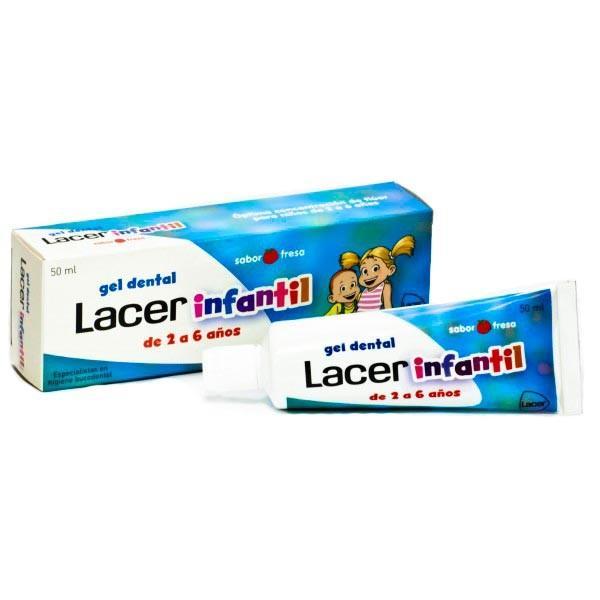 LACER GEL DENTAL INFANTIL 50ml