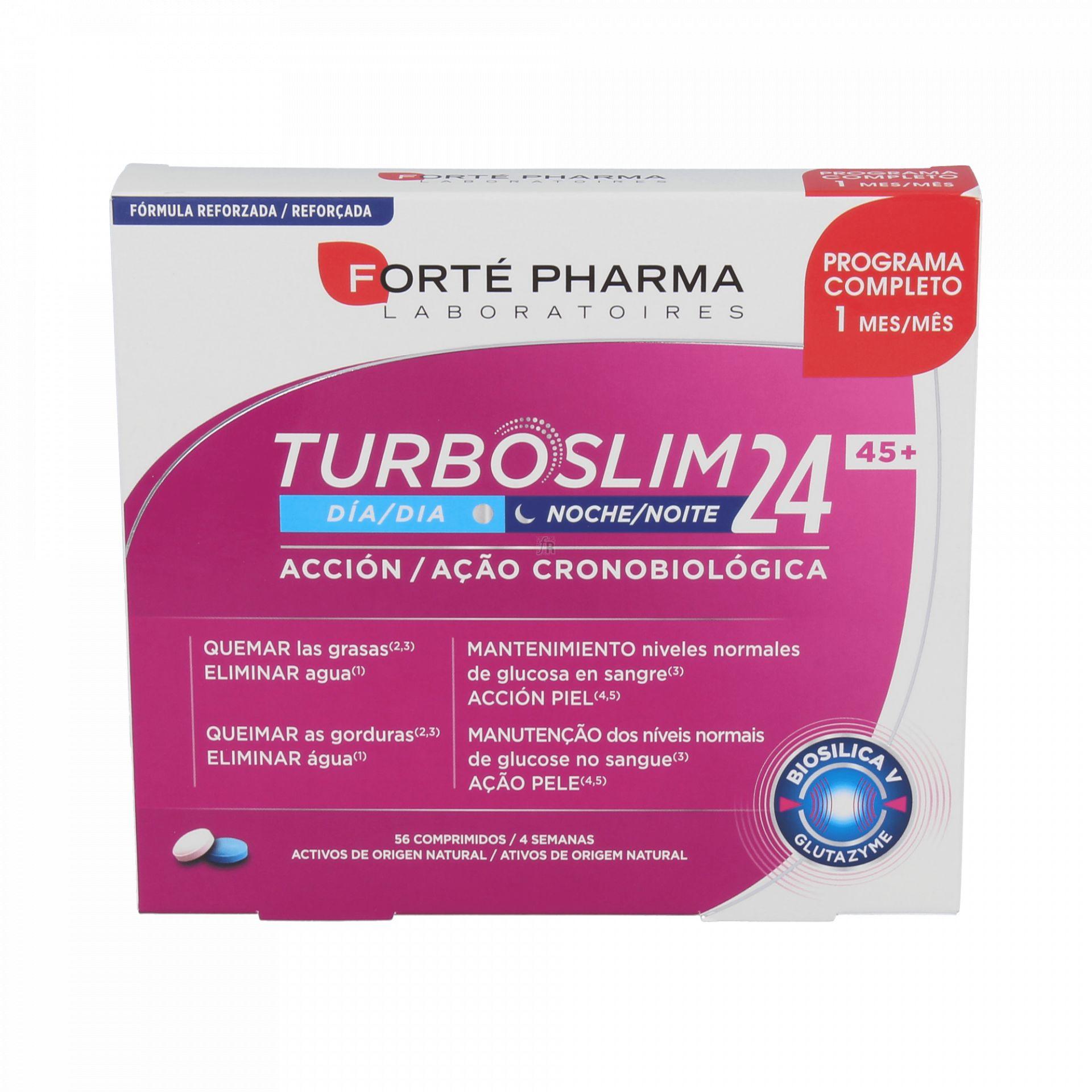 TURBOSLIM CRONOACTIVE 45+ 56 COMPRIMIDOS