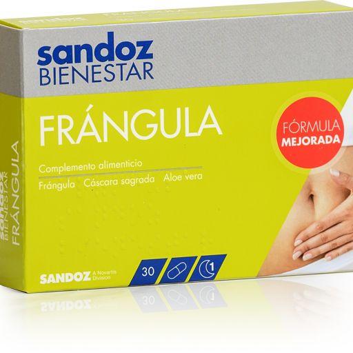 SANDOZ BIENESTAR FRANGULA 30CAPSULAS