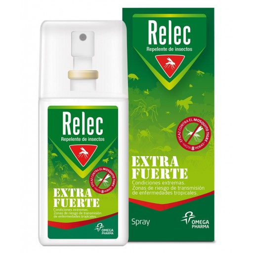 RELEC REPELENTE  MOSQUITOS EXTRAFUERTE SPRAY 75ml