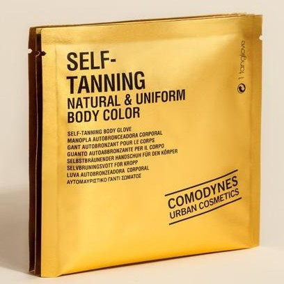 COMODYNES SELF-TANNING ALL SKIN NATURAL & UNIFORM BODY COLOR 3T