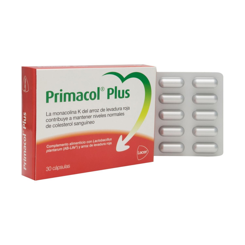 LACER PRIMACOL PLUS 30 CAPSULAS