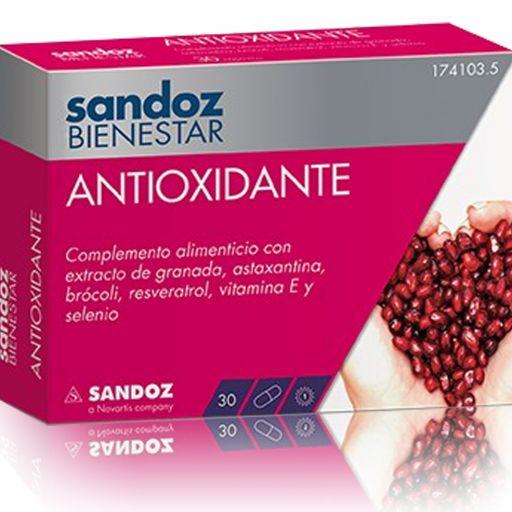 SANDOZ BIENESTAR ANTIOXIDANTE 30 CAPSULAS