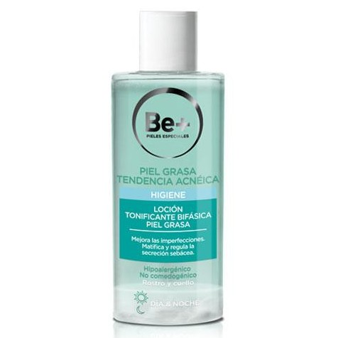 Be+ LOCIÓN TONIFICANTE BIFÁSICA 200ml