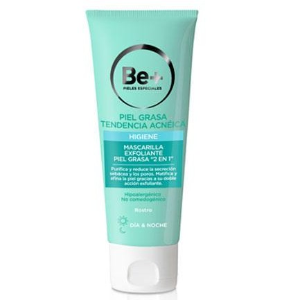 "Be+ MASCARILLA EXFOLIANTE ""2 EN 1"" 75ml"