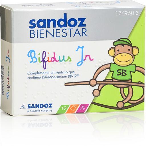 SANDOZ BIENESTAR BIFIDUS JR 10SOBRES