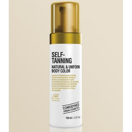 COMODYNES SELF-TANNING NATURAL & UNIFORM BODY COLOR 150ml