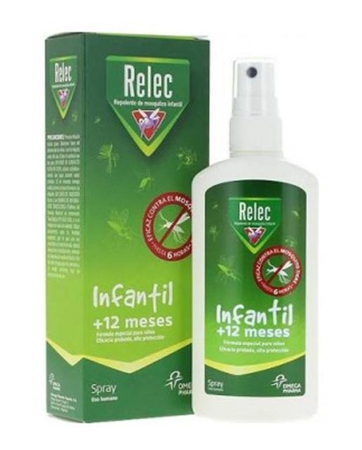 RELEC REPELENTE  MOSQUITOS INFANTIL +12 MESES SPRAY 100ml