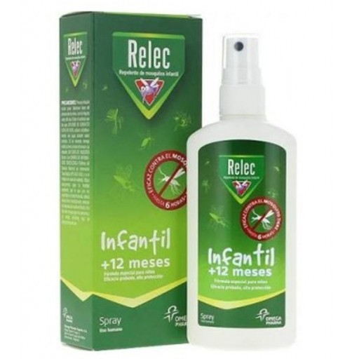 RELEC REPELENTE  MOSQUITOS INFANTIL +12 MESES SPRAY 100ml