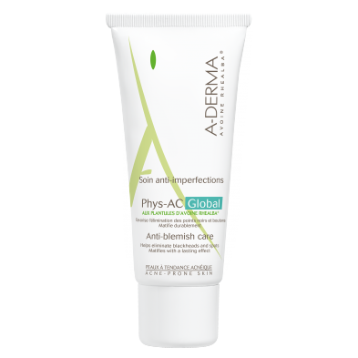 A-DERMA PHYS-AC GLOBAL CUIDADO ANTI-IMPERFECCIONES 40ml
