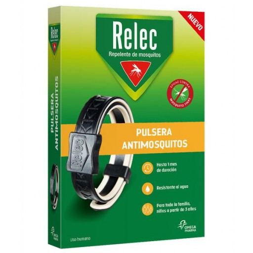 RELEC PULSERA ANTIMOSQUITOS ADULTOS NEGRA [0]