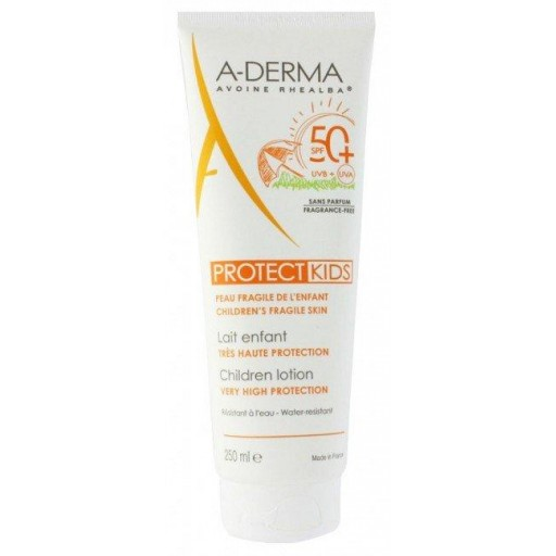 A-DERMA PROTECT KIDS LECHE SPF50+ 250ml.