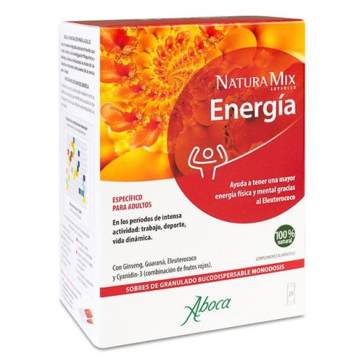 NATURAMIX ENERGIA ADULT 20 SOBRES