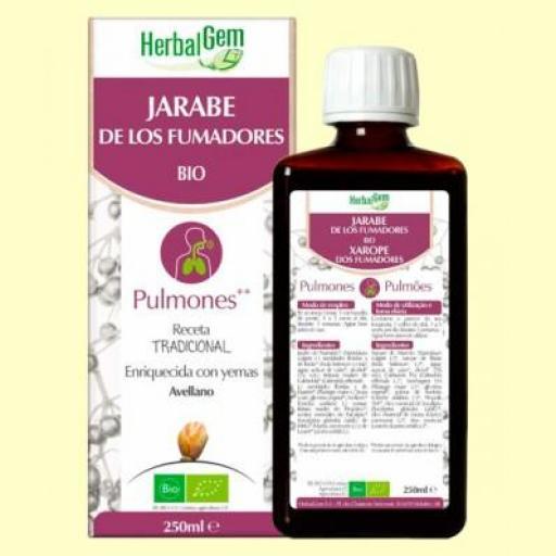 PRANAROM HERBAL GEM JARABE PARA LOS FUMADORES 250ML