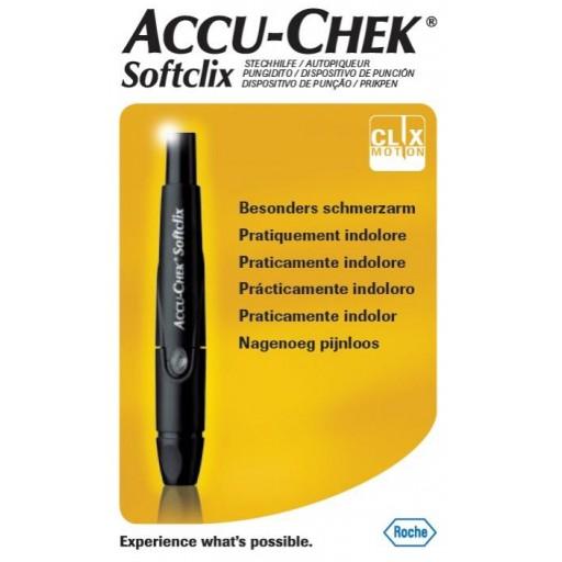 ROCHE DISPOSITIVO DE PUNCION ACCU-CHEK SOFTCLIX