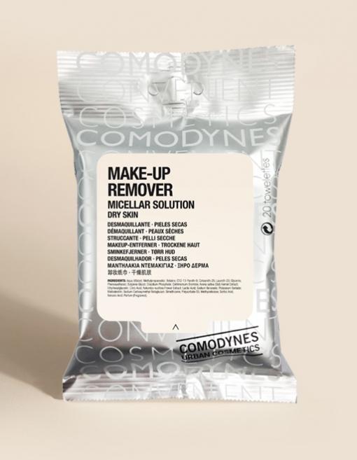COMODYNES MAKE-UP REMOVER MICELLAR DRY SKIN 20T