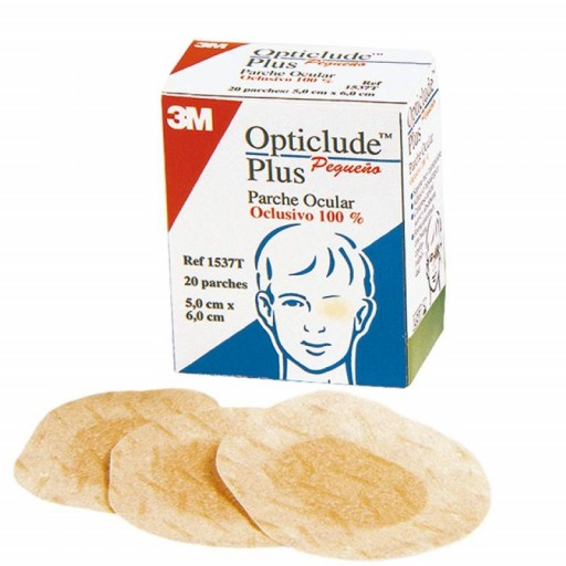 OPTICLUDE PLUS 20 PARCHES PQ