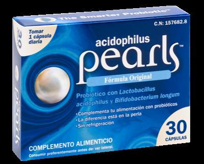 ACIDOPHILUS PEARLS 30 CAPSULAS
