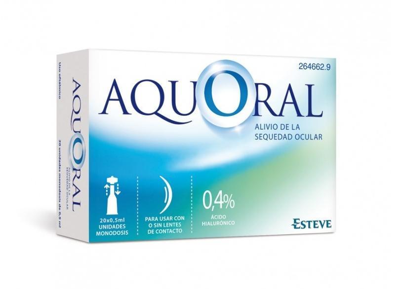 AQUORAL 0,4% 0,5 ML 20 MONODOSIS