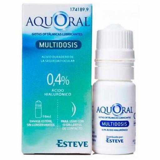 AQUORAL MULTIDOSIS 0,4% 10 ML