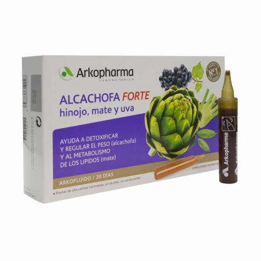 ARKOFLUIDO ALCACHOFA FORTE 20 AMPOLLAS