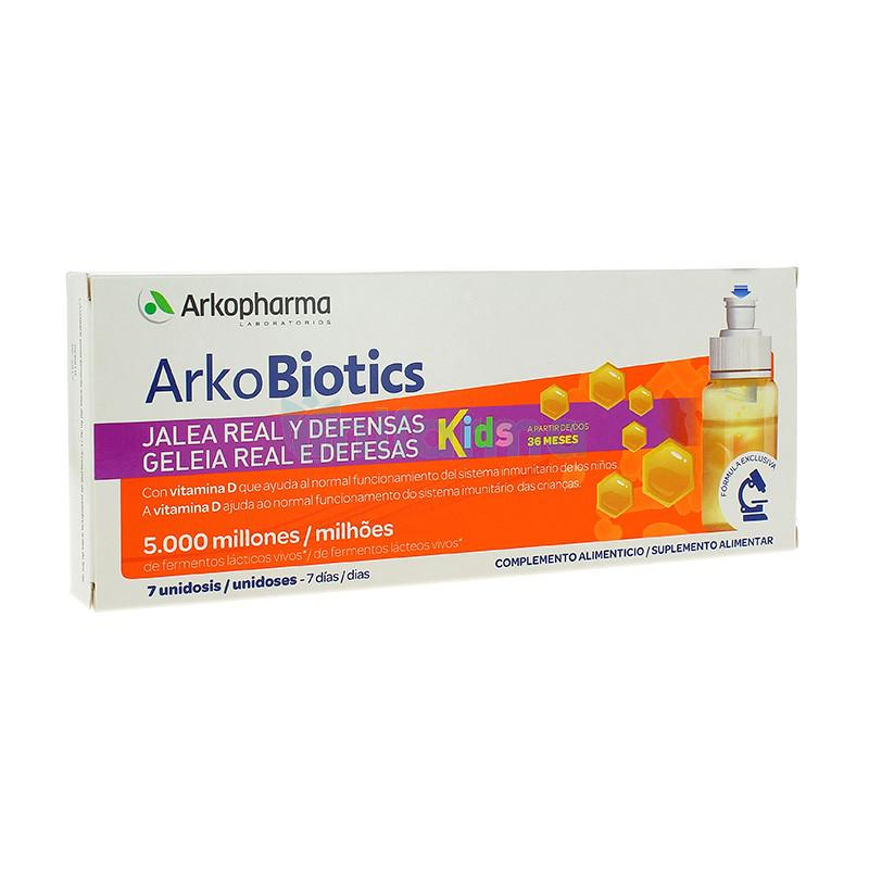 ARKOPROBIOTICS JALEA REAL Y DEFENSAS NIÑO 7 UNIDADES