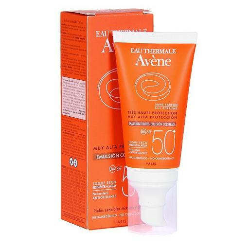 AVENE EMULSION 50+ COLOREADA 50 ML