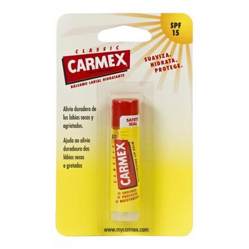 CARMEX STICK LABIAL 4,2GR SPF15+
