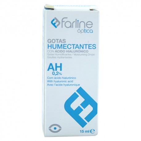 VISLINE GOTAS HUMECTANTES ESTERILES ACIDO HIALURONICO 15 ML