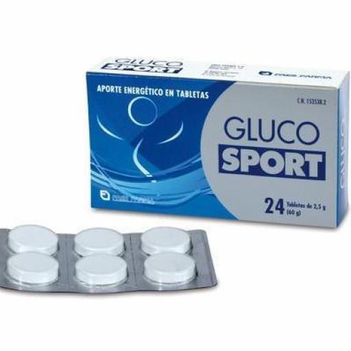 GLUCO SPORT 2,5 G 24 TABLETAS