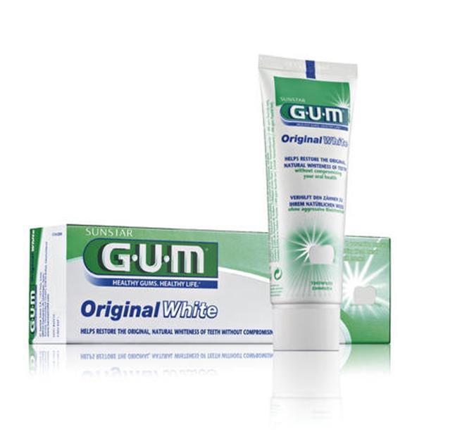 GUM ORIGINAL WHITE PASTA 75 ML